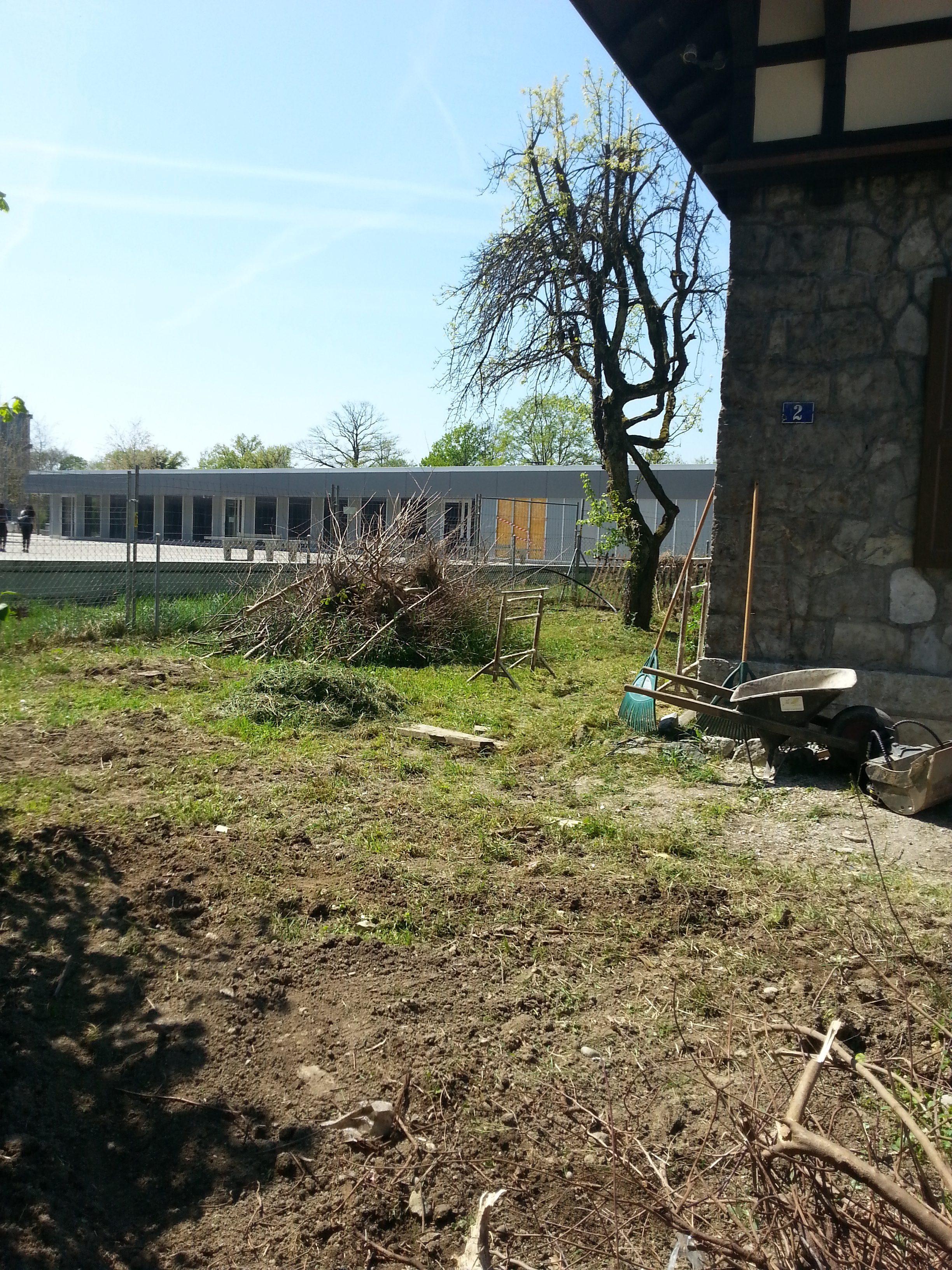 Pavillon Cayla - travaux préparatoires